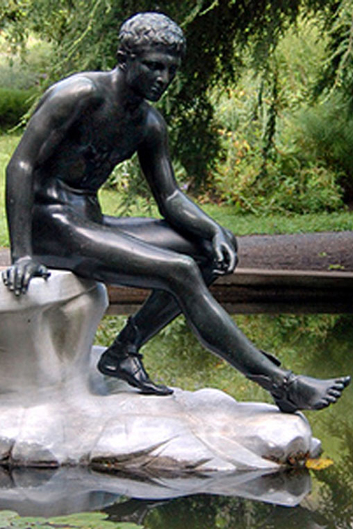 Chiurazzi Foundry, Hermes at Rest (detail), ca. 1890-1900
